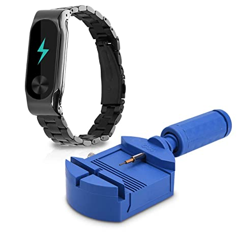 Amazon com: kwmobile Watch Strap for Xiaomi Mi Band 2 - Smart Watch
