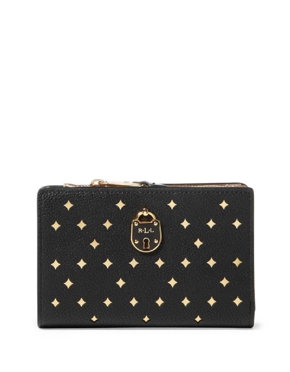 Lauren Ralph Lauren Women's Pebbled Compact Wallet by Lauren by Ralph Lauren