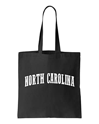Ugo NC North Carolina Flag Charlotte Map 49ers Home of University of NC UNC Tote Handbags