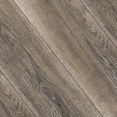 Kronotex Villa Harbour Oak Grey 12mm Laminate Flooring SAMPLE