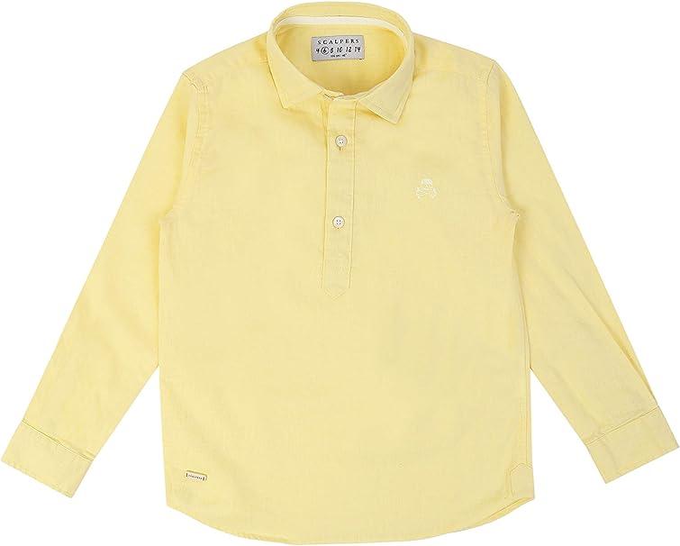 Scalpers POLERA PPT Kids Shirt - Camisa para niño: Amazon.es: Ropa y accesorios