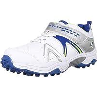 SG Shoe SG Century 3.0 WHT/RBL/LME No. 10 Cricket Shoes, 10 (WHT/RBL/LME)