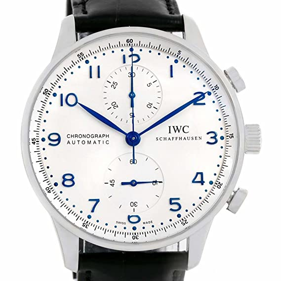 IWC Portugués automatic-self-wind Mens Reloj IW371417 (Certificado) de segunda mano: IWC: Amazon.es: Relojes