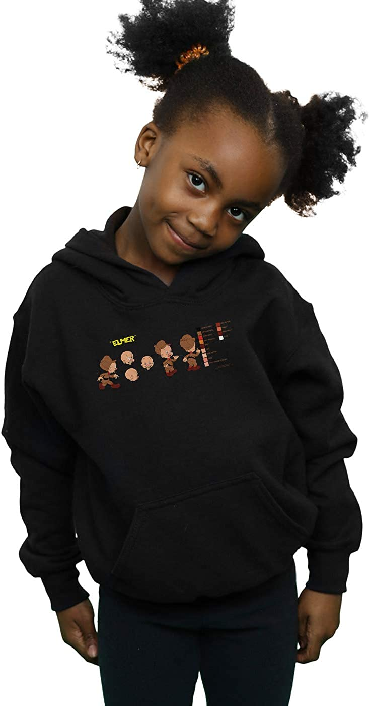 Looney Tunes Girls Elmer Fudd Colour Code Hoodie