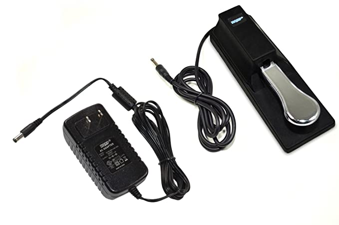 Amazon.com: HQRP AC Adapter & Sustain Pedal for Yamaha PSR-E203 YPT-200 YPT-210 YPT-220 PSR-E313 DGX-200 DGX-300 DGX-500 PSR-195 PSR-225 PSR-240 PSR-248 ...