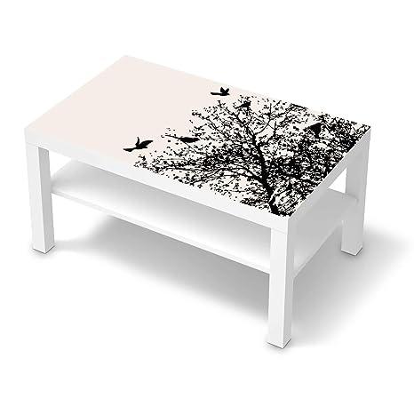 creatisto Möbel-Tattoo passend für IKEA Lack Tisch 90x55 cm I Möbelsticker  - Möbel-Sticker Aufkleber Folie I Innendekoration für Esszimmer, Wohnzimmer  ...