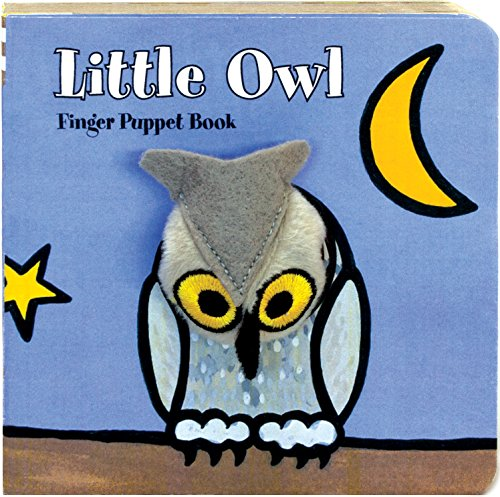 Little Owl: Finger Puppet Book (Little Finger Puppet Board Books)