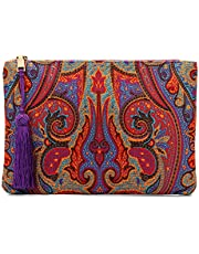 Otto Designer Women's Bohemian Clutch Purse - Multiple Slots Money, Cards, Smartphone - Ultra Slim