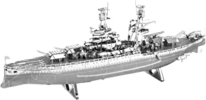Fascinations Metal Earth 3D Laser Cut Model Military USS Arizona Ship