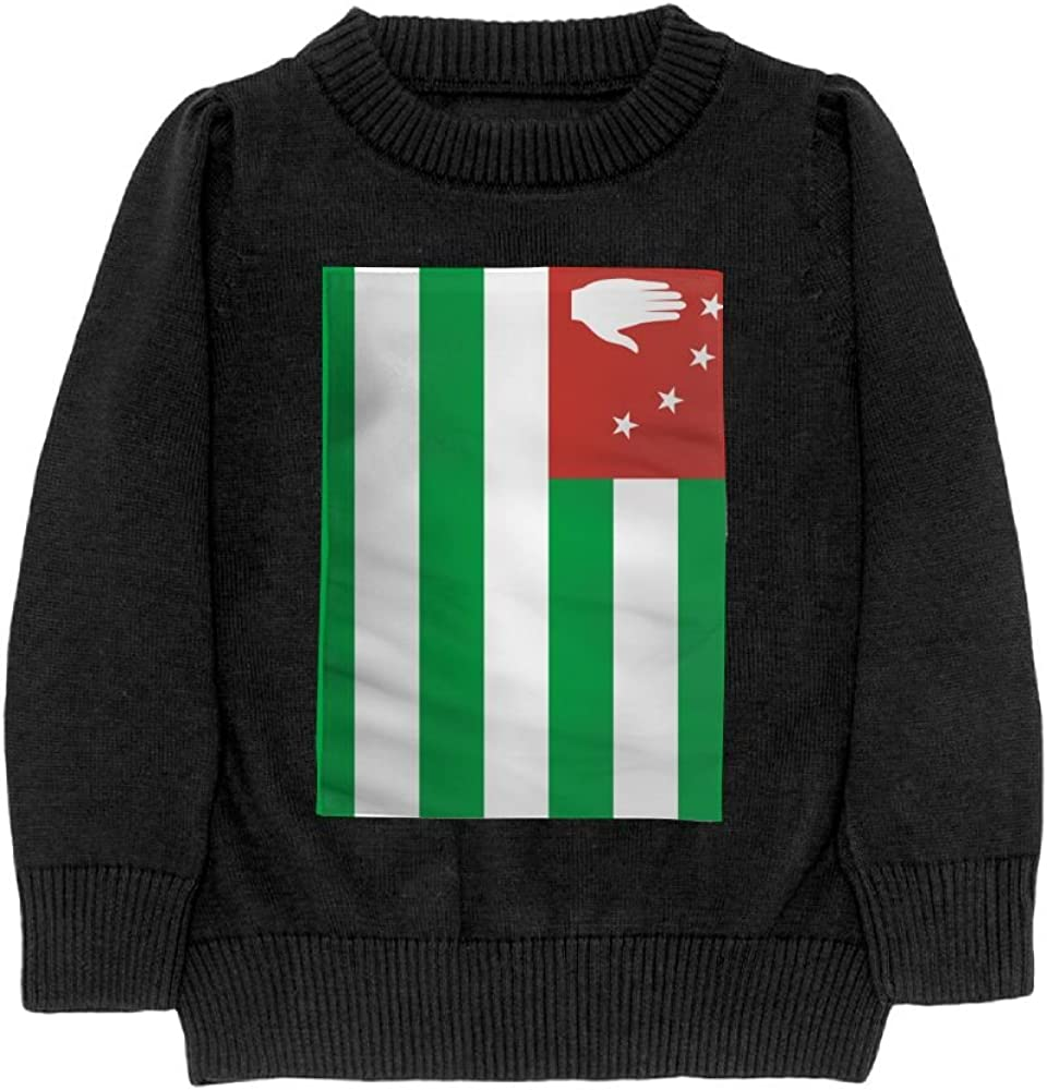 DTMN7 Flag of Abkhazia Teens Sweater Long Sleeves Crew-Neck Youth Athletic Casual Tee Junior Boys