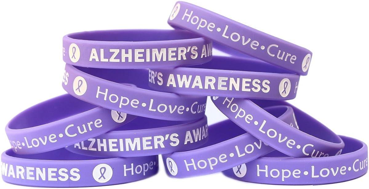 12 PURPLE RIBBON Awareness BANDANNAS Bandana cancer alzheimers awareness FREE SH