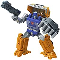"""Transformers - Generations - War for Cybertron: Kingdom Deluxe - 5.5"""" WFC-K16 Huffer - Takara Tomy - Action and Toy…"""
