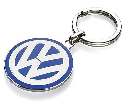 Accesorio Original Volkswagen Llavero esmalte emblema de Volkswagen Colección - VW LOGO - Alta Calidad