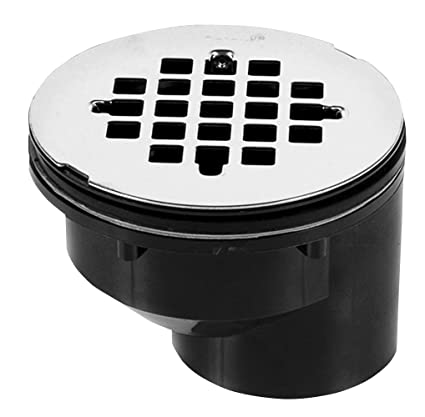 Oatey 42788 Offset Abs Shower Drain With Stainless Steel Strainer 2