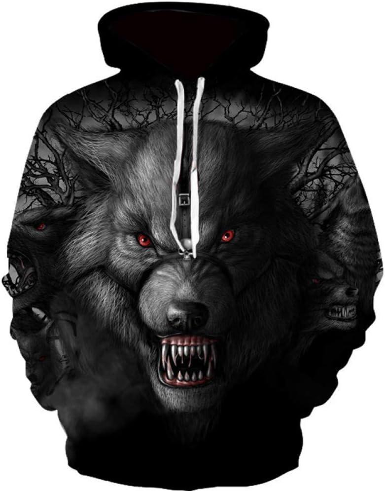 BAI Aassdd Fashion Mens Sweatshirts 3D gedrucktes Sweatshirt für Männer Streetwear Hooded Sweatshirt Funny Hoodie,* L M