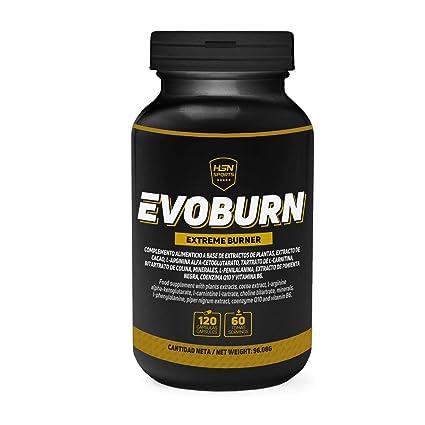 Evoburn Quemagrasas de HSN Sports - Activador Metabólico, Fat Burner - Acción Reductora de Grasas
