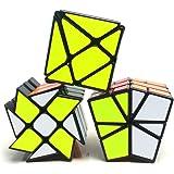 風の翼 - スピード不規則マジックキューブMoYu YongJun Fisher、ウィンドホイール、Kingkong Cube Puzzle (3点セット)