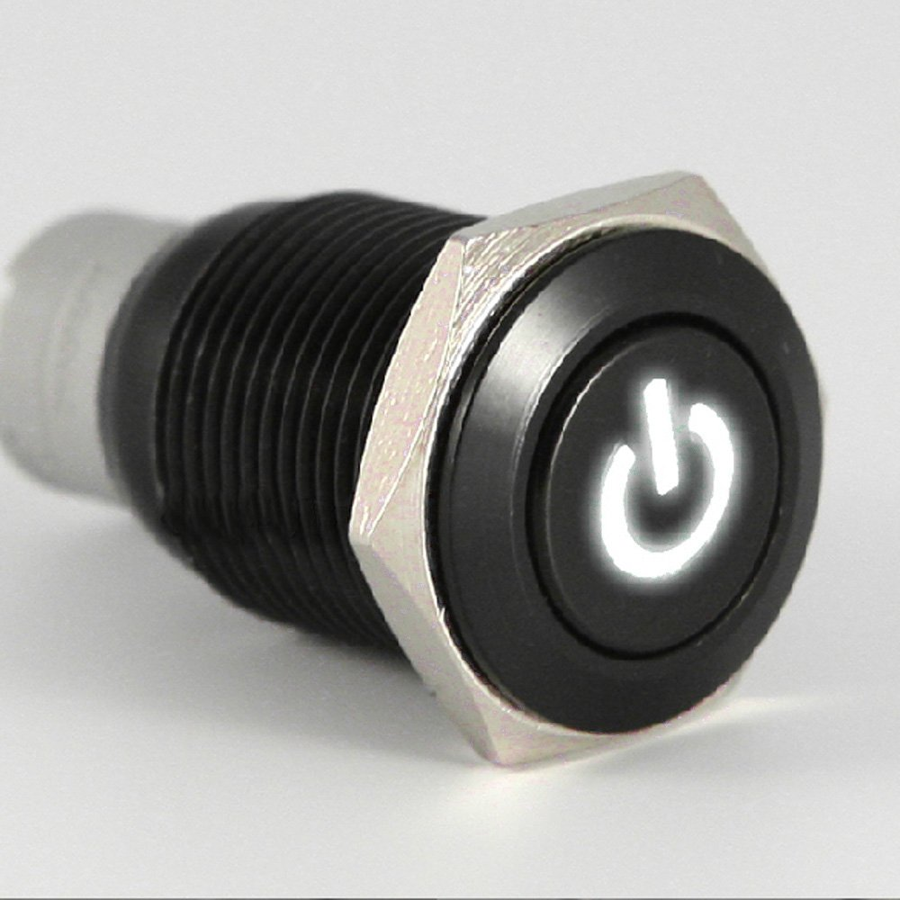 61vMKtY2 EL._SL1000_ amazon com e support™ 16mm 12v 3a car white led light power  at edmiracle.co