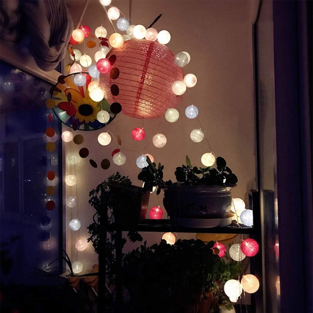 Pour f/ête de No/ël EU bleu, Guirlande lumineuse /à LED nulala 1.5m