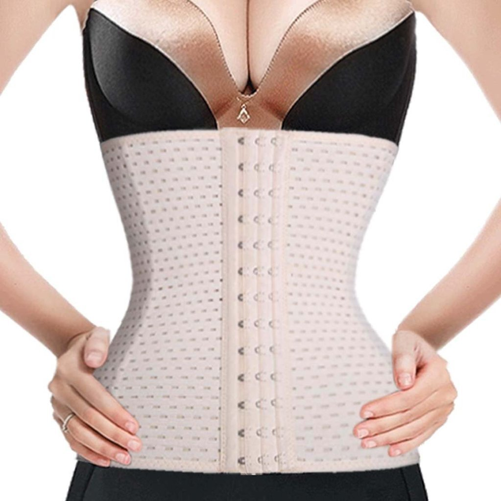 16acec862f Waist Trainer Corset for Weight Loss Sport Workout Body Shaper Tummy Fat  Burner