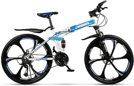 Qj Bicicleta De Montaña Plegable, 26 Pulgadas, Bicicleta De ...