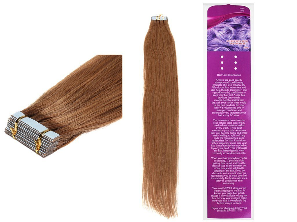 Amazon 20tape In Remy Human Hair Extensions Straight 50g