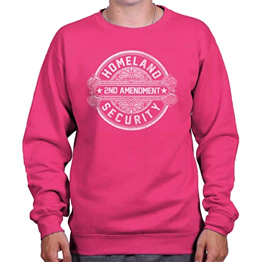 Image Unavailable. Image not available for. Color  Brisco Brands Homeland  Security American 2nd Amendment Crewneck Sweatshirt d6fb32f8c