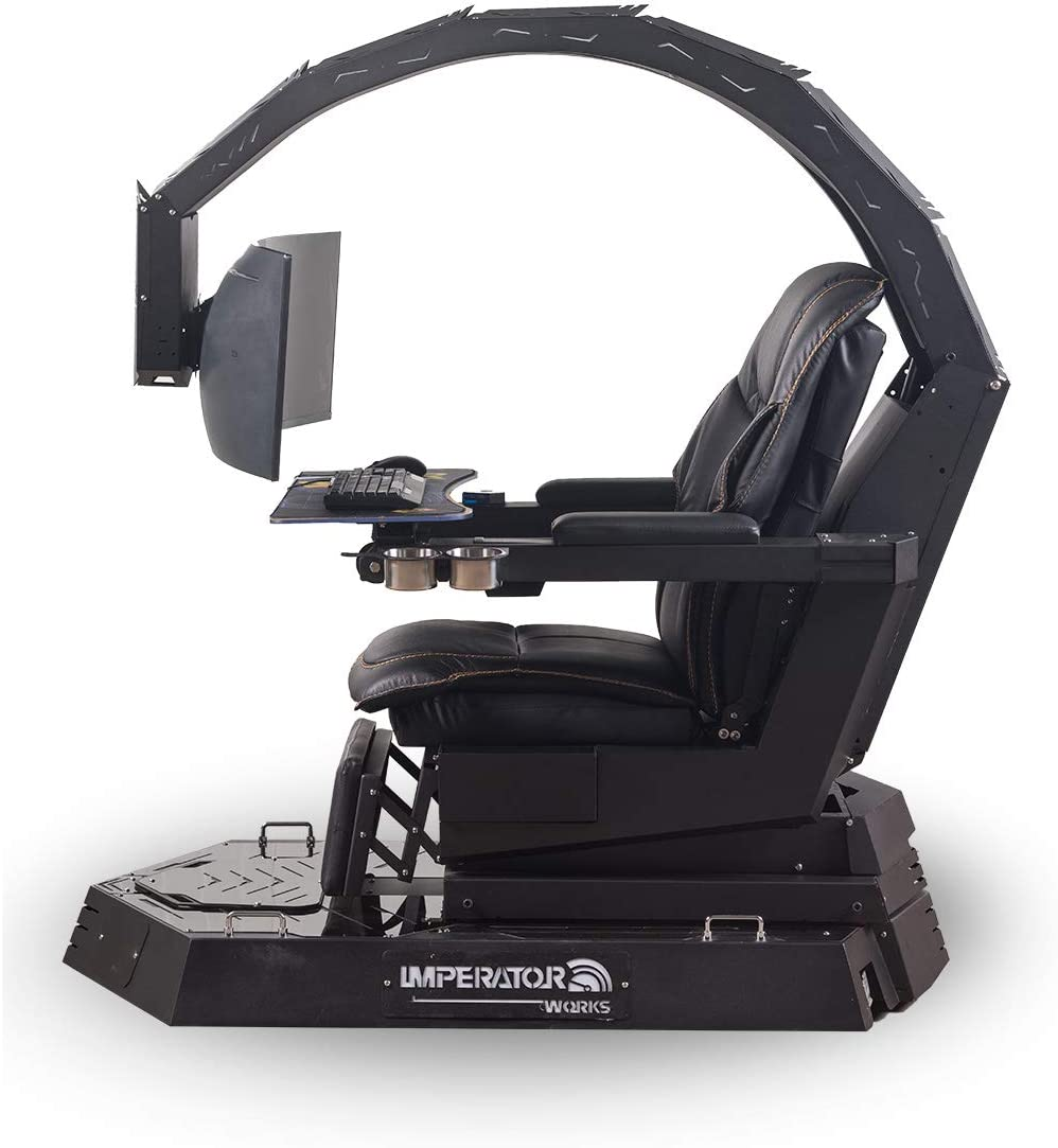 Amazon Com Iwr1 Imperatorworks Brand Gaming Chair Computer Chair For Office And Home For Triple Monitors Furniture Decor
