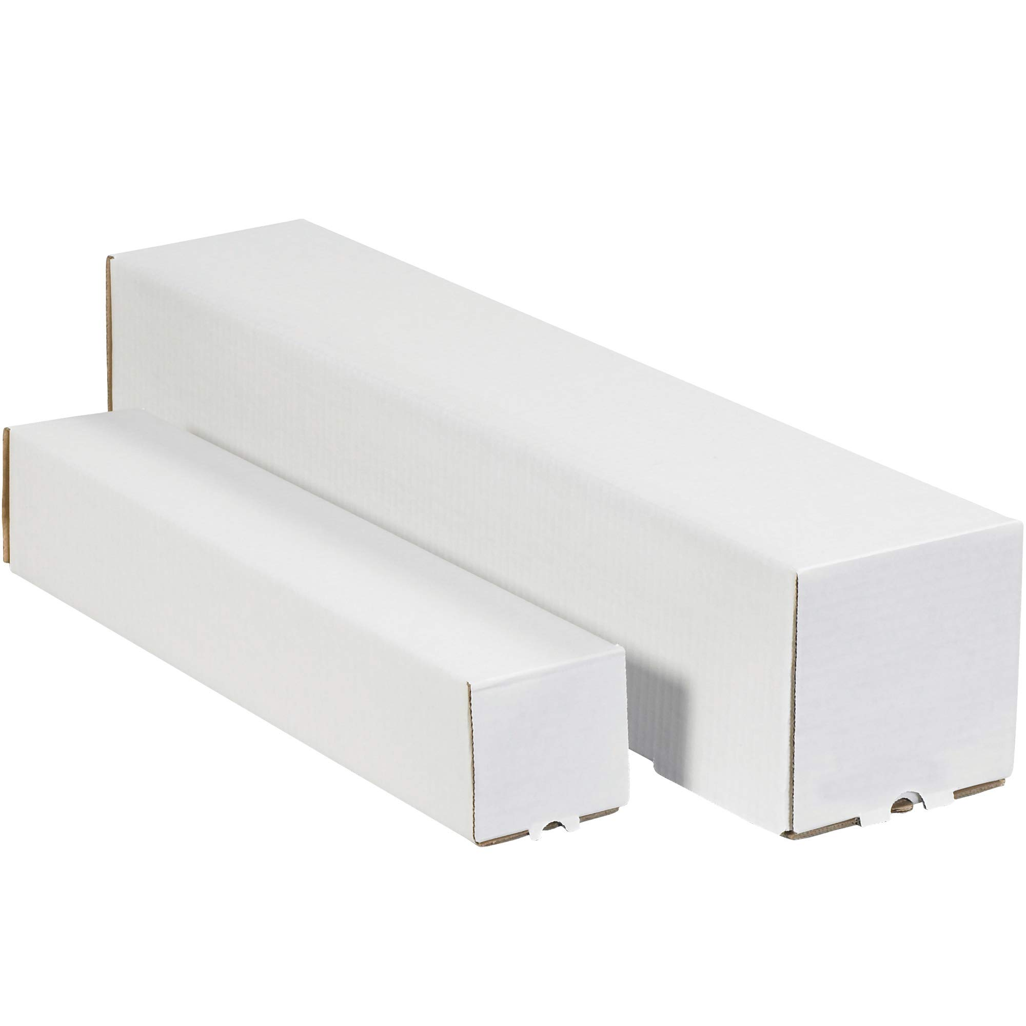 3 x 3 x 30'' White Square Mailing Tubes by Choice Shipping Supplies