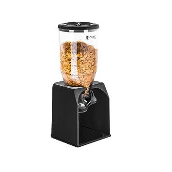 Royal Catering - RCCS-3L - Dispensador de cereales de 3 - Poliestireno - Envío Gratuito: Amazon.es: Hogar