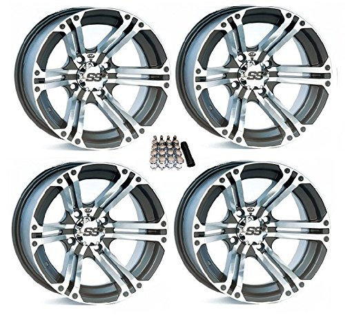 ITP SS212 ATV Wheels/Rims Machined 15″ Polaris RZR 1000 XP / Ranger 900 XP (4)
