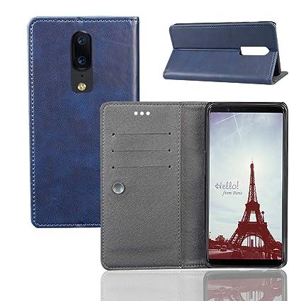 62aed8c410d1 Amazon.com: Torubia OnePlus 6 Flip Cover, Case, Leather Case ...