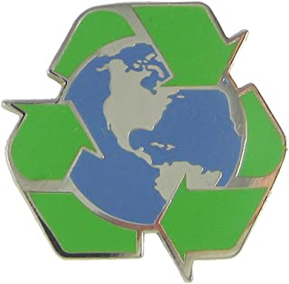 product image for Jim Clift Design Recycle Earth Enamel Lapel Pin