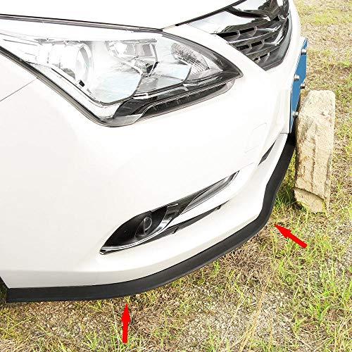 Car Shovel Front Bumper Skirt Surrounds The Front Lip Bumper Strips for Subaru Forester Outback Legacy Impreza XV BRZ Smart