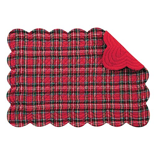 quilted table placemats - 6