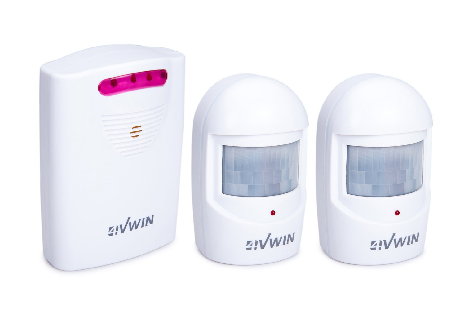 4VWIN driveway alarm provides a convenient and economic way to alert you the moment when someone is approaching your home by 4VWIN