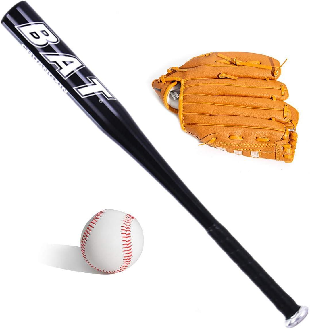 BigTree Baseball Balls Set Baseball Bat Baseball aluminum 25inch security baseball bat and ball set self defense youth adult outdoor traing and practise