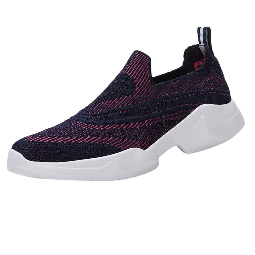 Saihui Damen Sportschuhe Bequem Netz Gym Schuhe Atmungsaktives Turnschuhe Sneakers Laufschuhe Fitness Leicht Rutschfeste Turnschuhe für Herren Damen