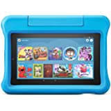 """Fire 7 Kids Tablet, 7"""" Display, ages 3-7, 16 GB, Blue Kid-Proof Case"""