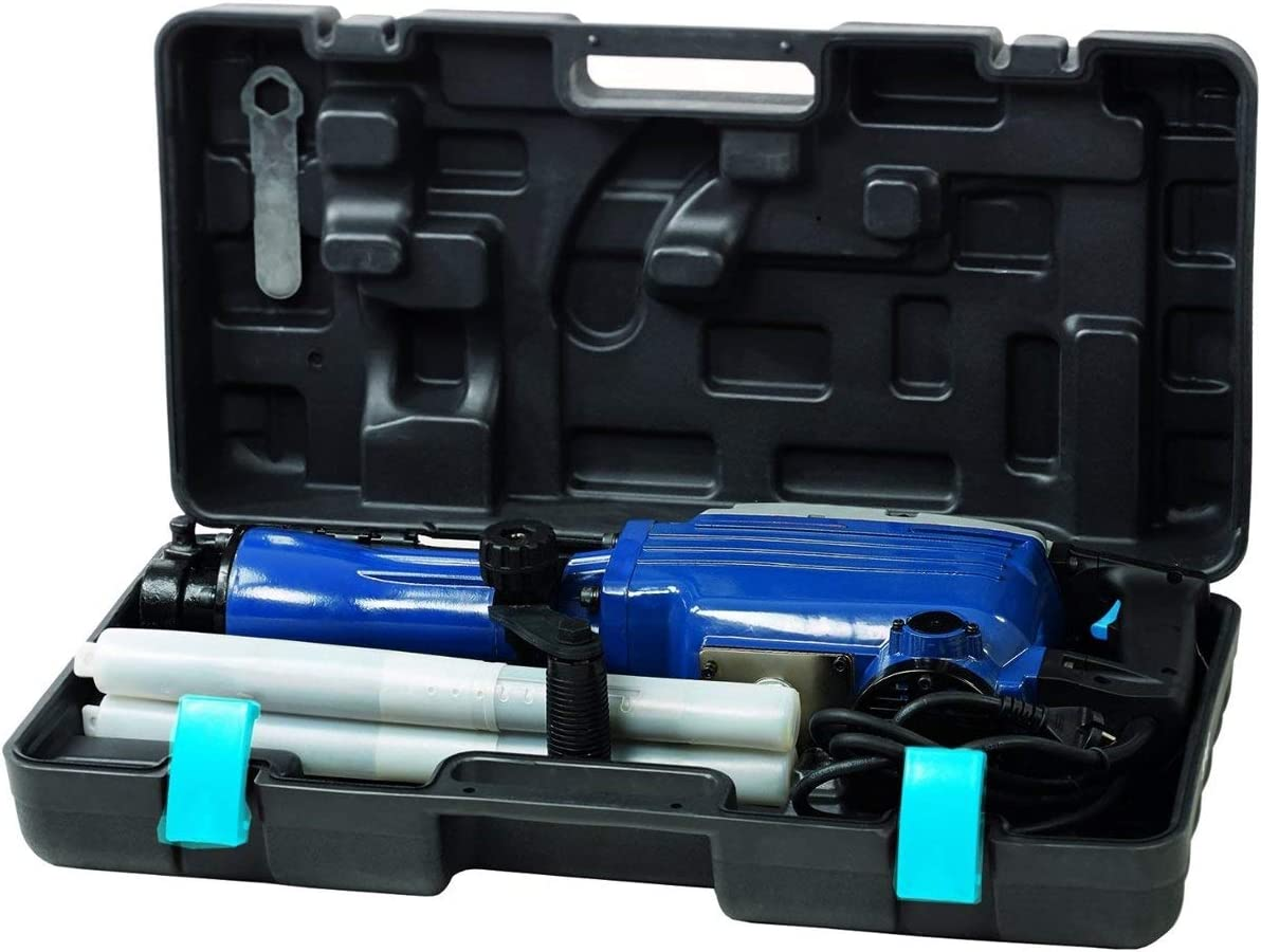 Einhell 4139067 BT-DH 1600 Martillo demoledor, cabezal SDS, fuerza de percusión 43 J, cable 200 cm, 1500 rpm , 1600 W, 230 V