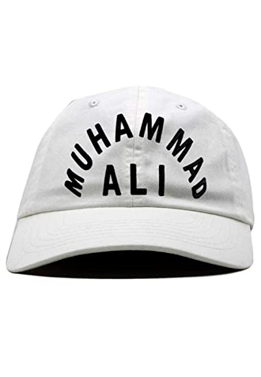 Mohamed Ali - Casquette Dad Hat Blanche Muhammad Ali - Blanc - Taille  Ajustable 10297bad624