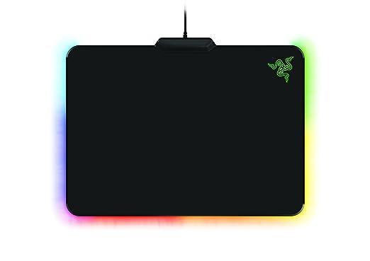 42 opinioni per Firefly Cloth Edition- tappetino per mouse gaming (retroilluminazione RGB,