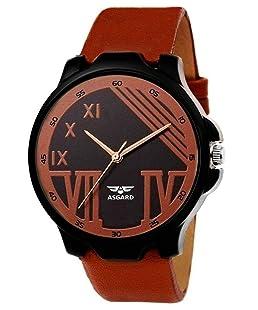 Asgard Analog Brown Dial Men's Watch-184-DOOM