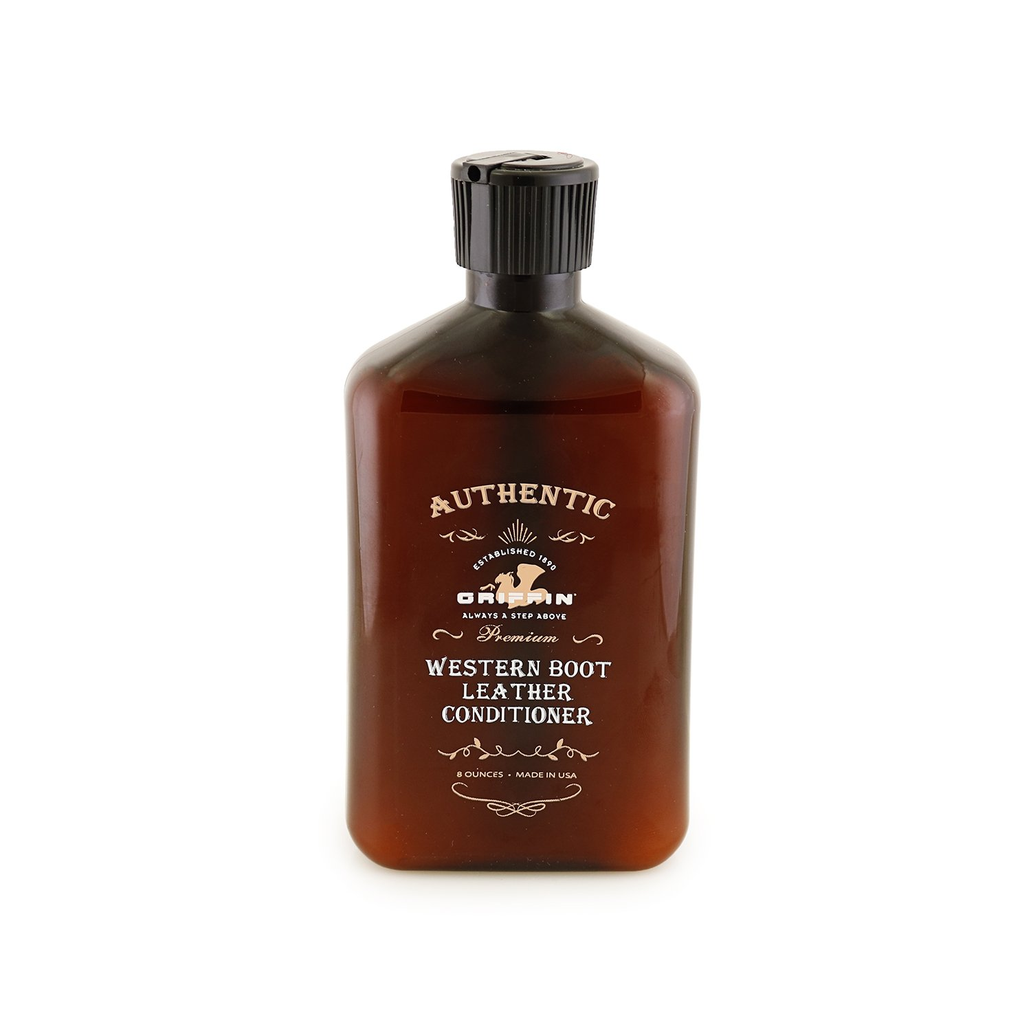 Griffin Western Leather Conditioner - Shine, Restore, Protect, and Condition! Shoes, Boots, Auto Interiors, Furniture, Handbags, Leather Tack and Western Products. Made in the USA by GRIFFIN