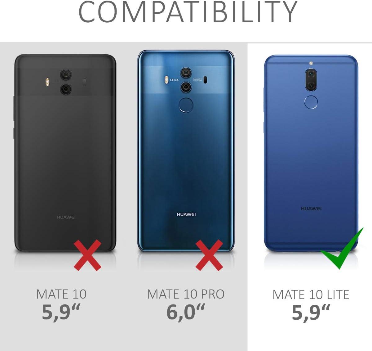 kwmobile Funda Compatible con Huawei Mate 10 Lite: Amazon.es ...