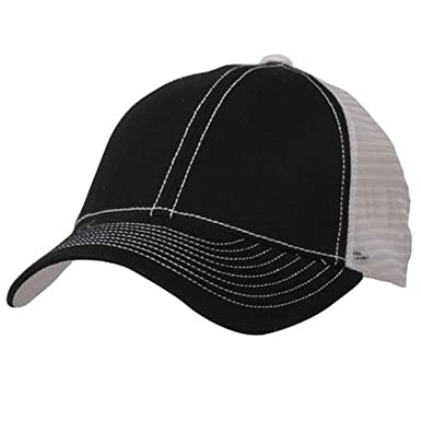 low profile structured trucker cap black white mid baseball unstructured caps uk