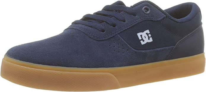 DC Shoes Switch Sneakers Herren Marineblau/Kautschuk (Gum)