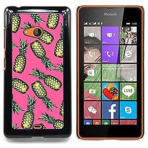 /Skull Market/ - Drugs Weed Cannabis Pink Fruit For Microsoft Nokia Lumia 540 N540 - Mano cubierta de la caja pintada de encargo de lujo -