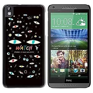 Dragon Case - FOR HTC DESIRE 816 - I love you - Caja protectora de pl??stico duro de la cubierta Dise?¡Ào Slim Fit