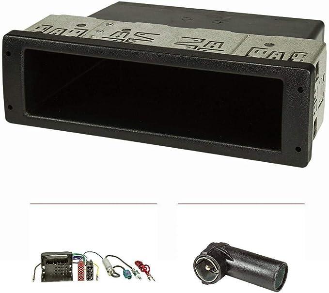 tomzz Audio 2457-018 Radio Pantalla versión Profesional Extremadamente Estable Adecuada para VW Polo, Fox con Adaptador Quadlock ISO, Fakra Adaptador ...